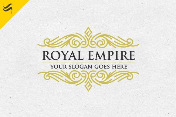 Royal Empire Crest Logo Template