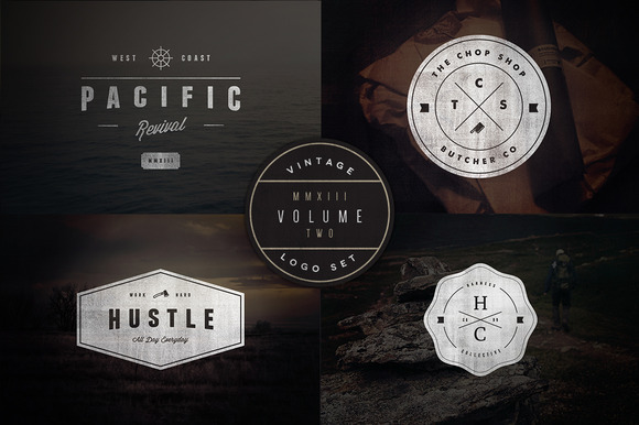 Vintage Logo Set Volume Two