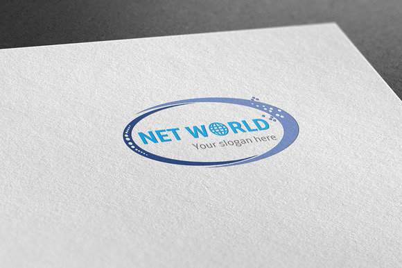 Creative Net World Logo