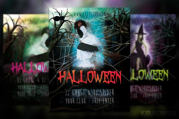 Halloween Flyer Poster