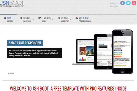 JSN Boot Joomla Free Theme