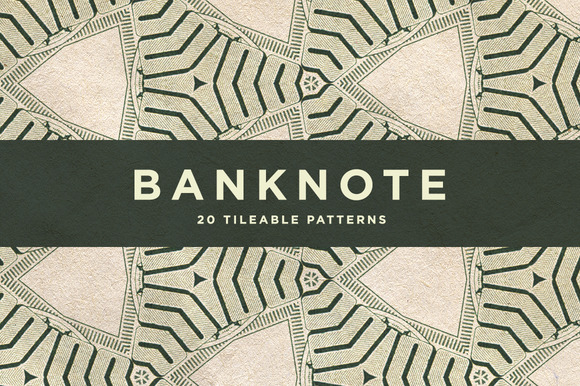 20 Banknote Patterns