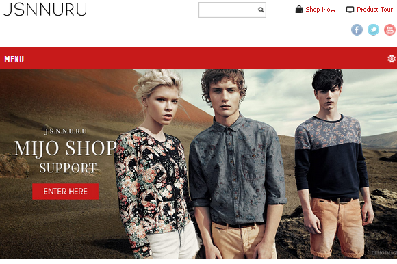 JSN Nuru Joomla E-commerce Theme