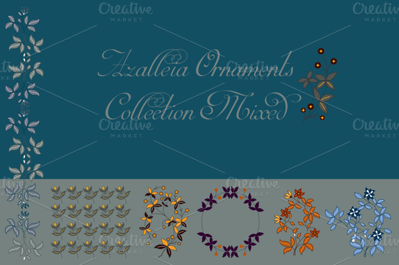 Azalleia Ornaments Collection Mixed