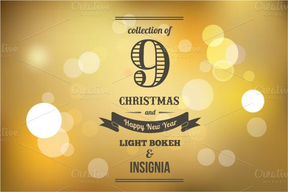 9 Light Bokeh Insignia Backgrounds