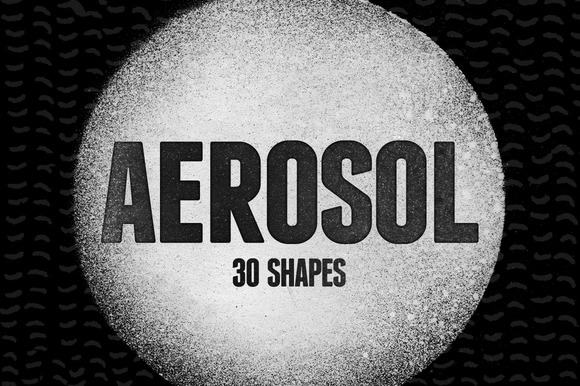 30 Aerosol Shapes Vol.1