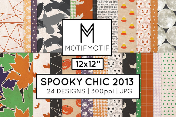 Spooky Chic Mega Pack In Multi