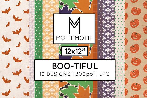 Boo-tiful Digital Paper Pack