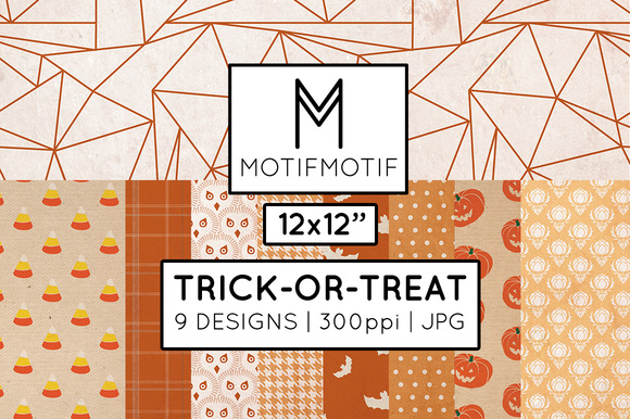Trick-or-Treat Digital Paper Pack