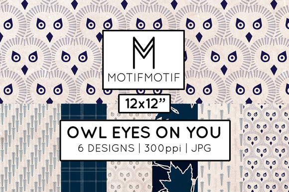 Owl Eyes On You In Midnight Blue