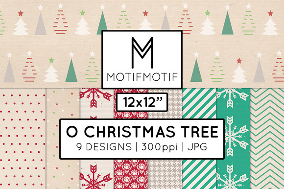 O Christmas Tree Holiday Paper Pack