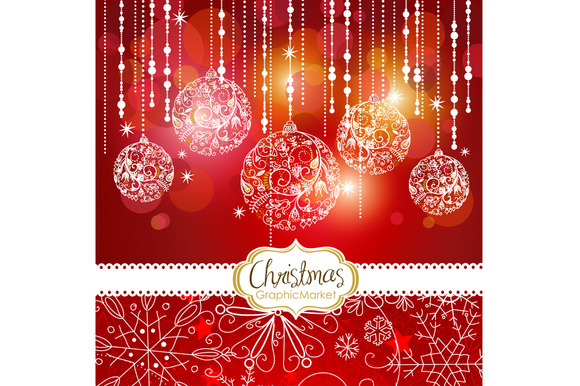5 Christmas Template Designs Clipart