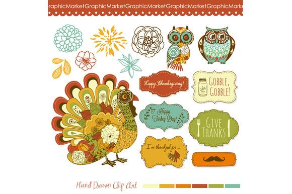 Thanksgiving Turkey Fall Clip Art