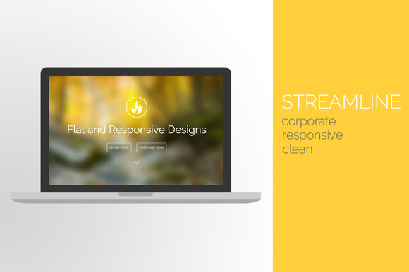 Streamline Responsive Portfolio