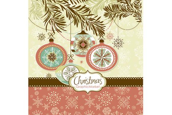 Christmas Clip Art Ornaments Balls