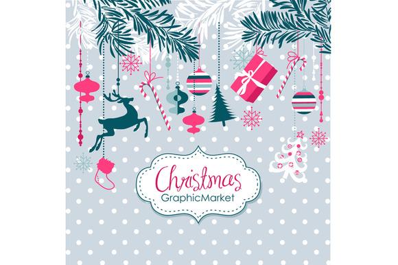 Christmas Clip Art Ornaments