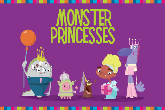 Monster Princess Vectors