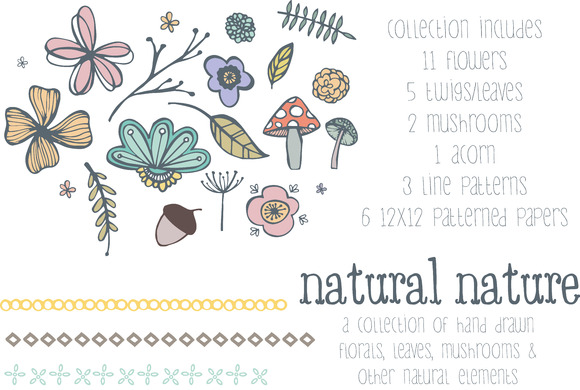 Natural Nature Graphic Pack