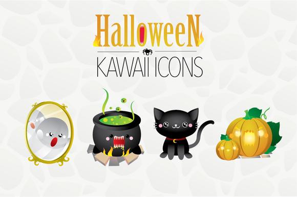 Halloween Kawaii Icons
