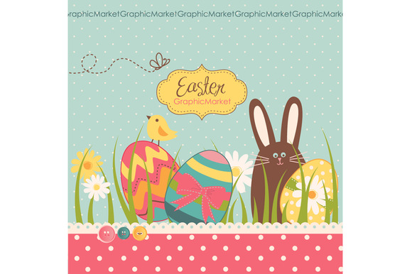 Easter Clip Art And Card Templates