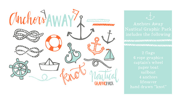 Anchors Away Graphic Pack