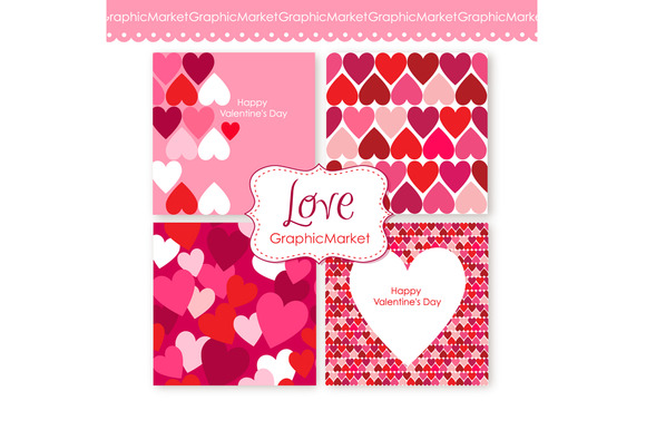 4 Valentine S Day Template Design