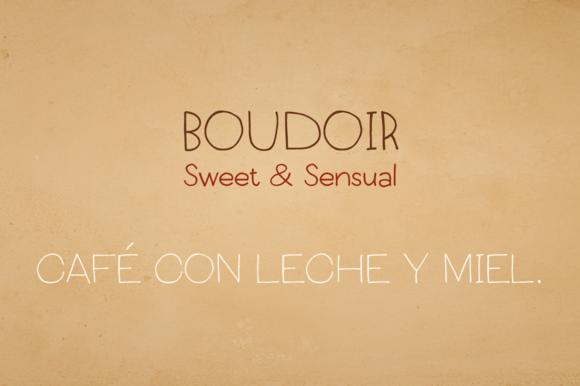 Boudoir Font Family