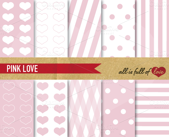 Digital Scrapbooking Paper Kit