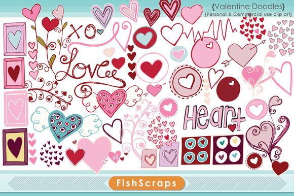 Valentine Clip Art Hearts
