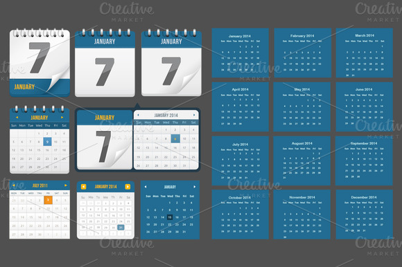 Calendars And Counters