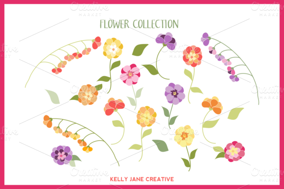 Bright Flower Collection