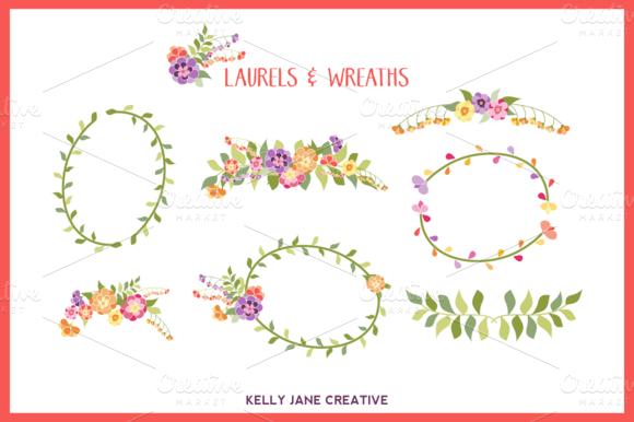 Bright Laurels Wreaths