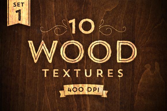 10 Wood Textures Set 1