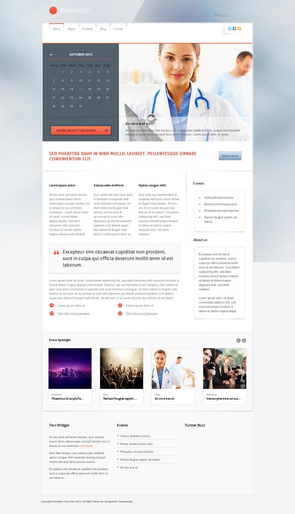Eventalist Wordpress Theme