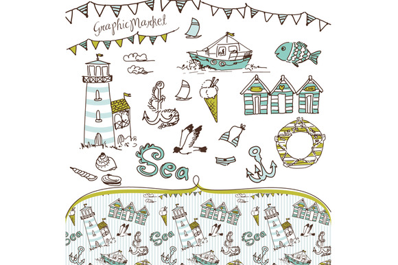 Sea Clip Art And Background