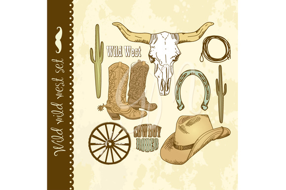 Cowboy Clip Art Wild West Boys
