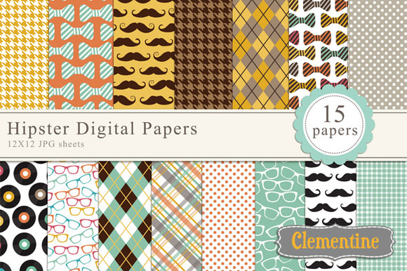 Hipster Digital Papers