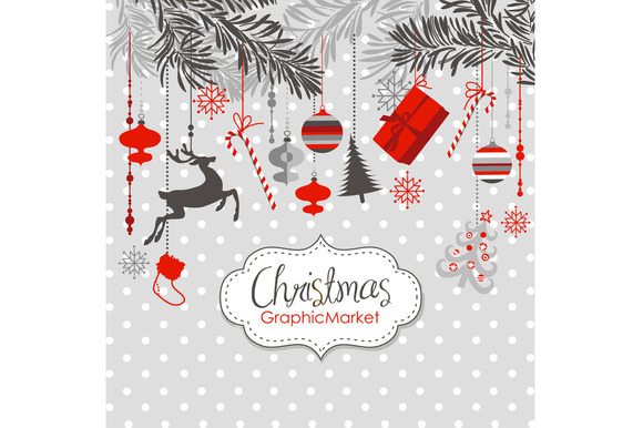 Christmas Clip Art Ornaments