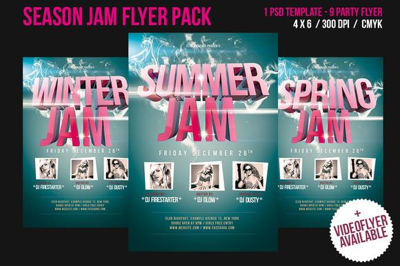 Season Jam Flyer
