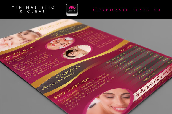 Clean Corporate Flyer Template 04