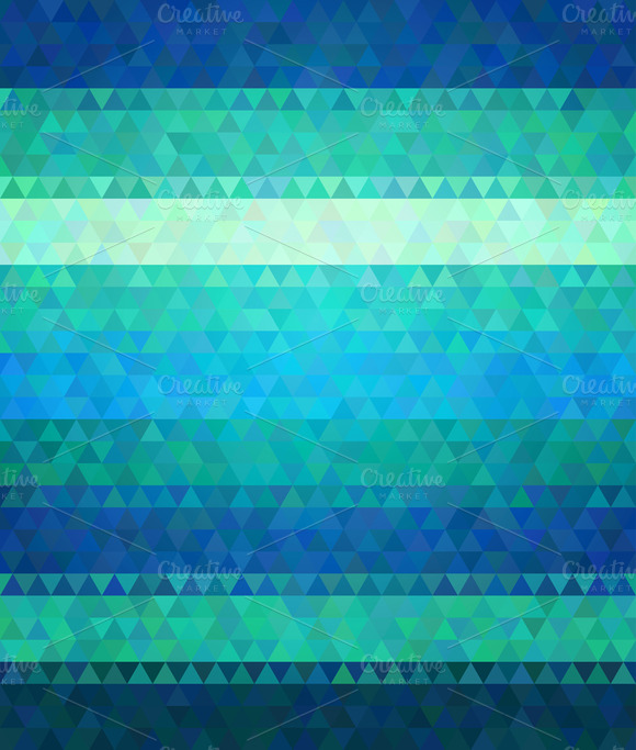 Polygon Style Vector Background