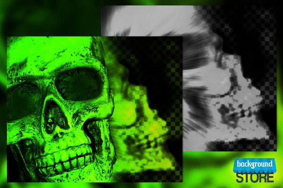 Skull Backdrop