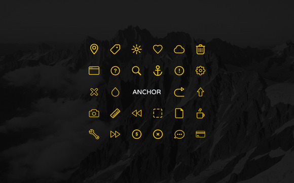 Stroked Icons