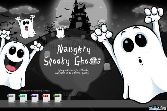 Cartoon Ghosts