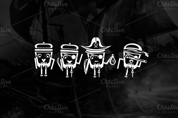 Illustration PIRATES CREW