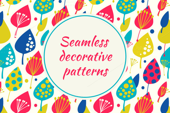 Seamless Colorful Patterns