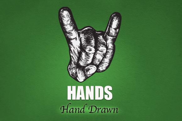 HANDS Hand Drawn