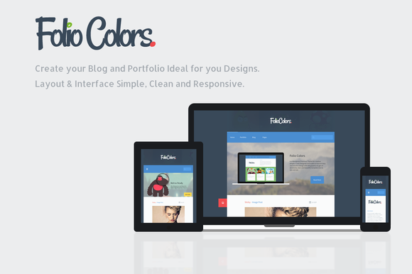 Folio Colors Portfolio Blog Theme