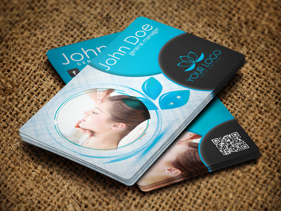 Spa Center Business Card Vol 3