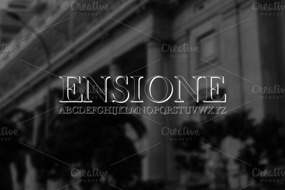 Font ENSIONE